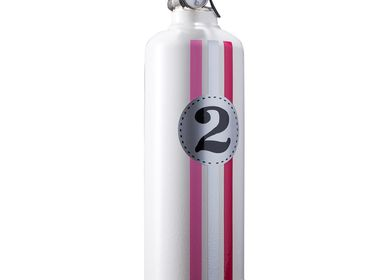 Decorative objects - Car fire extinguisher Entre 2 retros Fangio white - FIRE DESIGN