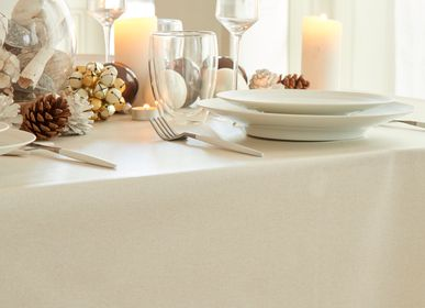 Table linen - Wipeable tablecloth Gold Sparkles - FLEUR DE SOLEIL