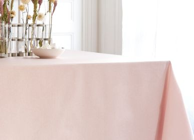 Table linen - Wipeable tablecloth Pink Sparkles - FLEUR DE SOLEIL