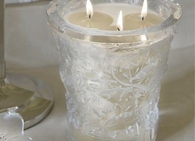 Decorative objects - FOREST, CRYSTAL SCENTED CANDLE - LALIQUE VOYAGE DE PARFUMEUR