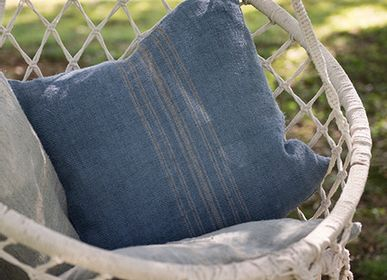 Coussins - Provence Linen  Cushions - GOVOU FABRICS