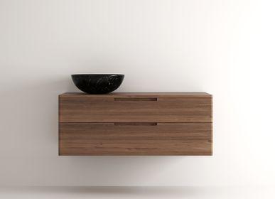 Meubles pour salles de bains - Baker Hanging Basin 2 Drawers - KARPENTER