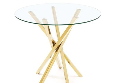 Tables de nuit - TABLE ROUND ILA - ABHIKA