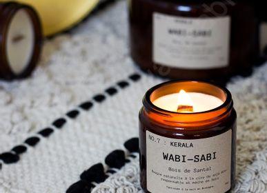 Bougies - Bougie Bretonne Wabi-Sabi NO.7 : Kérala - WABI-SABI