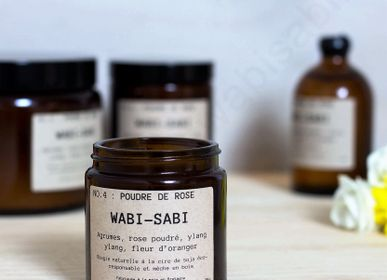 Decorative objects - Candle NO.4 : Rose powder by Wabi-Sabi - WABI-SABI