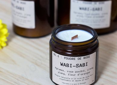 Candles - Candle NO.4 : Rose powder by Wabi-Sabi - WABI-SABI