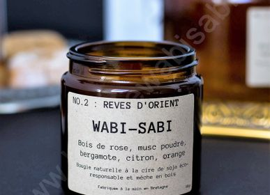 Candles - Candle NO.2: Dreams of the Orient by Wabi-Sabi - WABI-SABI