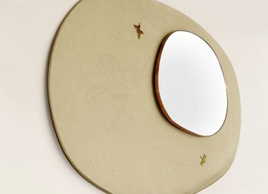 Mirrors - Mirror from the OM collection: Golden arrow - MARIE BARTHES