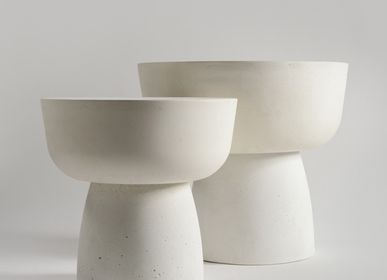 Design objects - MUSHROOM SOLID sculptural coffee tables - ALENTES