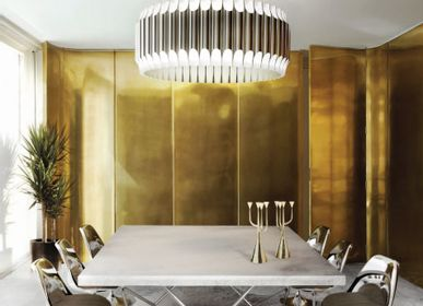 Aménagements pour bureau - Galliano Round Chandelier - COVET HOUSE