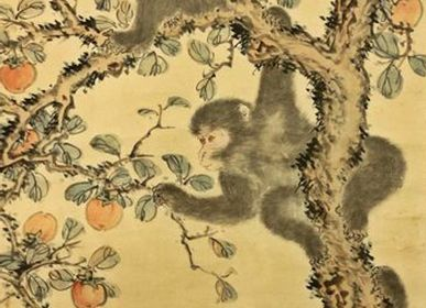 Wall decoration - Japanese scroll paintings - THE SILK ROAD COLLECTION