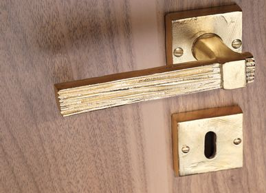 Artistic hardware - SABLE Door Handle  - OBJET INSOLITE