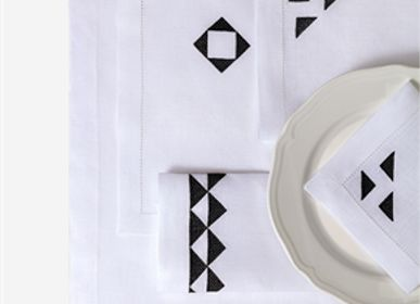 Kitchen linens - Runner Kutnu + Cotton Zeugma - KUTNİA