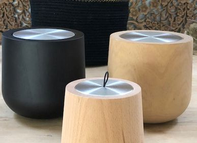 Objets design - LES BOUGIES WOODEN XL - HYPSOÉ - LUXURY FRAGRANCES MADE IN PARIS