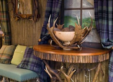 Tables consoles - ANTLER CONSOLE TABLE - CLOCK HOUSE FURNITURE