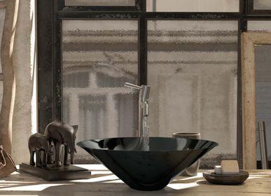 Spas - Vasque LETO noir brillant - BASSINES