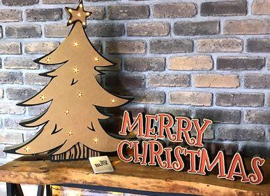 Christmas decoration - X MAS TREE - BOX BUTIK