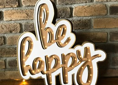 Table lamps - BE HAPPY - BOX BUTIK