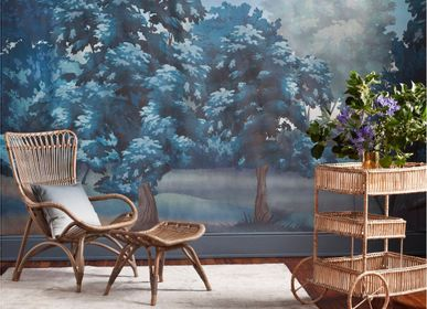 Wallpaper - BLUE LANDSCAPE PANORAMIC WALLPAPER - SOFIA WILLEMOES