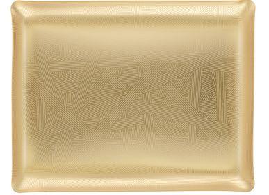 Plateaux - Plateau acrylique Art Déco Gold - PLATEX
