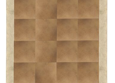 Tapis  - Cowhide with Metallic Gold - KOKET