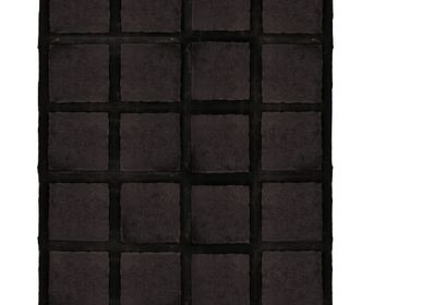 Tapis  - Cowhide with Merino Lamb Expresso - KOKET