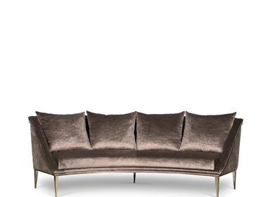 sofas - Geisha Curve Sofa - KOKET