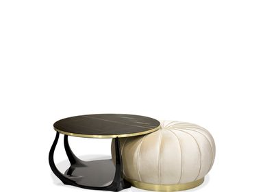 Coffee tables - Embrace Cocktail Table Ottoman - KOKET