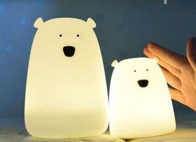 Gifts - Soft Silicone Cat and Bear LED Night Light Lamp - KELYS