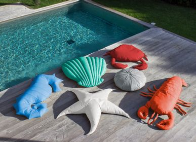 Cushions - Outdoor seahorse beanbag  - MX HOME