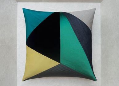 Cushions - CHAMPETRE cushion - MAISON POPINEAU