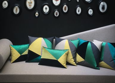 Fabric cushions - CHAMPETRE cushion - MAISON POPINEAU