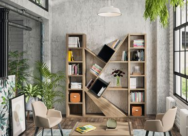 Bookshelves - PREFACE modular furniture - GAUTIER