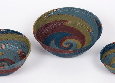 Decorative objects - TELEPHONE WIRE BASKETRY  - MAHATSARA