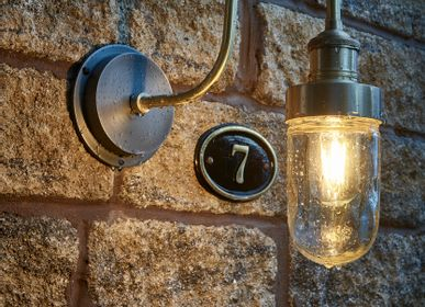 Appliques extérieures - Swan Neck Outdoor & Bathroom Wall Light - INDUSTVILLE