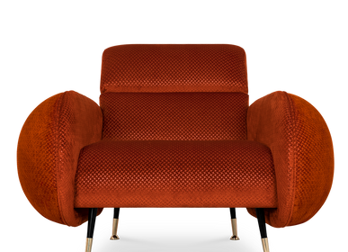 Lounge chairs for hospitalities & contracts - Marco | Armchair - ESSENTIAL HOME