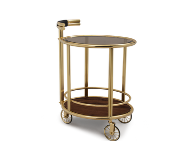 Dining Tables - Baughman | Bar Cart - ESSENTIAL HOME