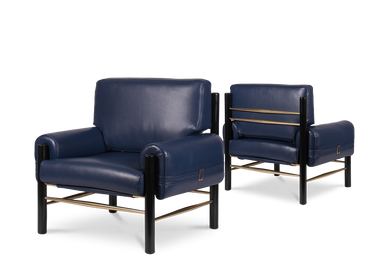 Lounge chairs for hospitalities & contracts - Dean | Armchair - ESSENTIAL HOME