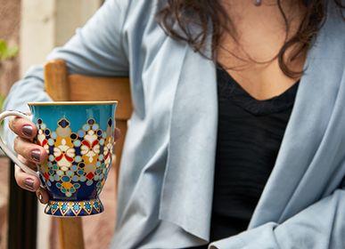Tea / coffee accessories - Musée Sursock Vitrail - IMAGES D'ORIENT