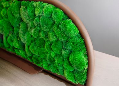 Floral decoration - Desktop Separator G-DESK-FOAM BALL  - GREEN MOOD