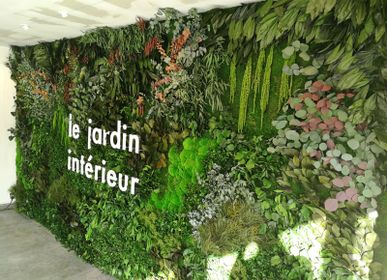 Outdoor coverings - Preserved Green Wall - Forest - GREEN MOOD