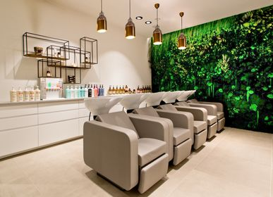 Office furniture and storage - Preserved Green Wall - Forest - GREEN MOOD