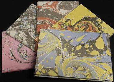 Stationery store - Marble paper notebooks - LEGATORIA LA CARTA