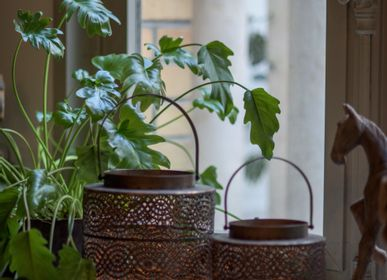 Decorative objects - MONA metal lantern. - ASIATIDES