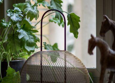 Objets de décoration - Lanterne OLANE en verre et métal - ASIATIDES