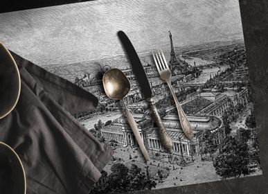 Placemats - Engraving Placemat - Paris 1900 - CIMENT FACTORY