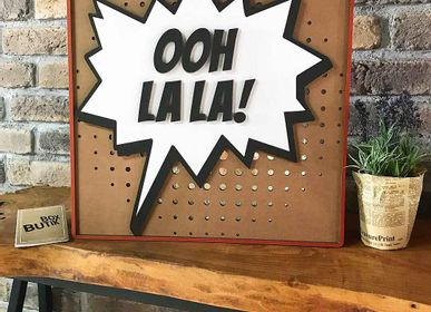 Décoration murale - OH LA LA! - BOX BUTIK