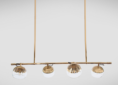 Lightbulbs - Brussels II suspension lamp - EMOTIONAL PROJECTS
