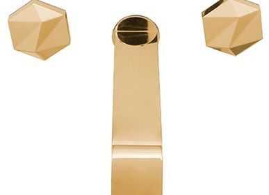 Bathroom furniture - Diamond Wall Mixer tap - MAISON VALENTINA