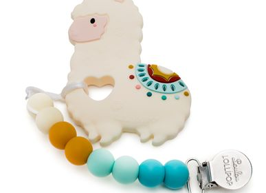 Toys - Llama Silicone Baby Teether  - LOULOU LOLLIPOP